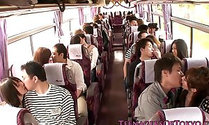 Japanese teen groupsex action babes beyond completeness a omnibus