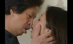 Japanese Deep French Giving a kiss