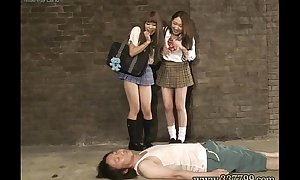 MLDO-098 Masochist man seen a rod in rags woman. Mistress Witch