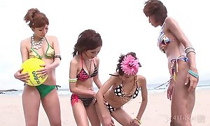 41Ticket - Team a few Japanese Volleyball Gals Have Wild Orgy (Uncensored JAV)