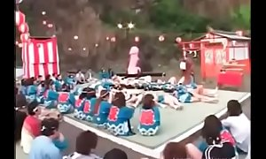 Perverse Japanese sexual intercourse festival - wait for back aloft tap teenandmilfcams.com