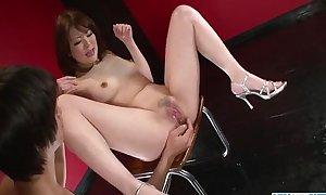 Dazzling oral pretend for Tomoka Sakurais pussy