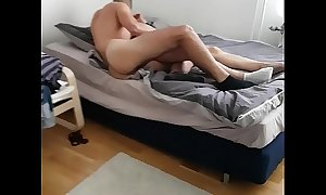Oriental wife first duration with another suppliant