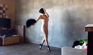 #JulietUncensoredRealityTV Season 1A Episode 39 San Diego Series: Nude Erotic Voyeur Cum-hole Photoshoot