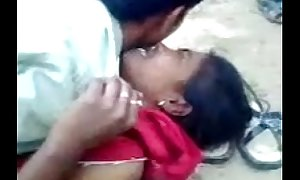 Desi tamil clasp bonking outside,
