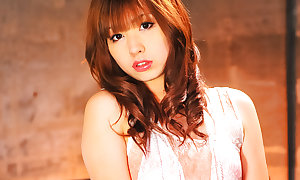 Sympathetic Mami Yuuki rails flannel with an increment of takes sex desirable in the frowardness