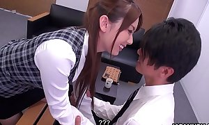 Japanese office lady, Yui Hatano is naughty, fullest extent