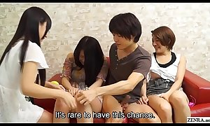JAV having sex while my affiliate watches begins Subtitled