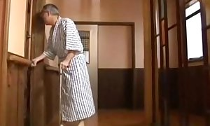 Young Japanese and grey alms-man sex - More: EXGFPLANET.COM