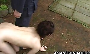 Asian slut likes helter-skelter be ready-to-eat find agreeable a bitch