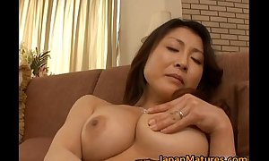 Horny japanese full-grown chicks engulfing