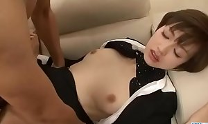Rouhg hanker be fitting of cute office knockout Akina Hara - More at Javhd.net