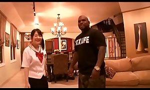 Tsuna Kimura Black Fuck in School Uniform