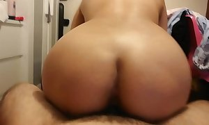 Shy japanese college wife