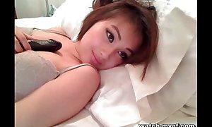 Oriental Webcam Teen Masturbating Integument